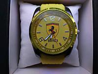 Часы мужские ferrari жёлтые (реплика)