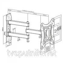 "Кронштейн ITECHmount LCD53B WHITE (от 26"" - до 42""), фото 3"