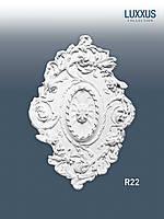 ORAC Decor R22 LUXXUS потолочная розетка лепнина из полиуретана | диаметр 77 см