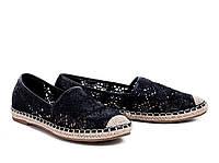 Эспадрильи Балетки женские черные /Espadrille Большой выбор обуви на http://saxo.com.ua