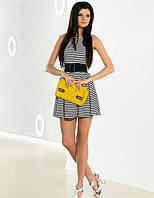 Платье в полосочку морской стиль