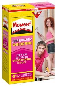 Клей для обоев Moment (МОМЕНТ) Флизелин Премиум 250 г, фото 2