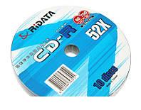 Диски 10шт RIDATA CD-R 700Mb