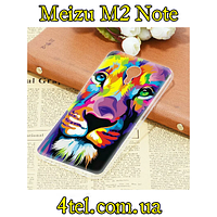 Чехол для Meizu M2 Note, бампер, Лев