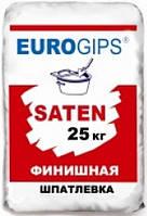 Шпаклевка Турция Сатен EUROGIPS (ЕВРОГИПС Сатенгипс) 25кг беспещанка