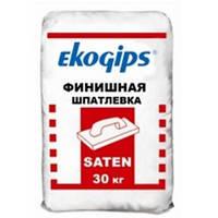 Шпаклевка гипсовая Турция SAТENGIPS (САТЕН ГИПС) Экогипс, 30кг беспещанка