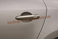 Накладки на ручки Omsa на Renault Captur 2014