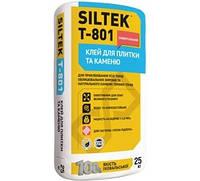 Клей для плитки и камня SILTEK Т-801 (СИЛТЕК)