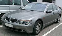 Лобовое стекло на BMW 7 E65 с местом под зеркало, датчик дождя, окошком под VIN и электрообогревом (2002-2008)