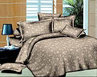 Полуторный набор постельного белья 150*220 Полиэстер №041 Черешенка™