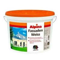 ALPINA Fassadenweiss B3 9,4 л Водоэмульсионная краска