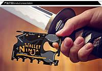 Мультитул кредитка wallet ninja