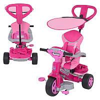 Велосипед детский трехколесный с родительской ручкой 800007099 Feber