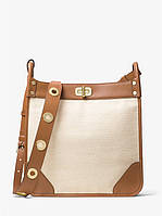 Сумка Michael Kors Sullivan Large Leather and Linen Messenger 30S7GUPM9C