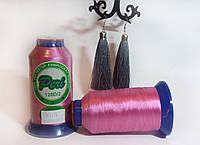 Нитки для машинной вышивки Peri, полиэстер 120D/2, 3000 ярдов, цвет 3015 розовый фуксия