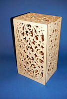 Резная свадебная колонна. Резной подсвечник заготовка для декора