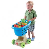 Детская тележка для покупок - Step 2 - США - синего цвета
