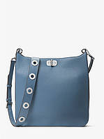 Сумка Michael Kors Sullivan Large Leather Messenger blue 30H6SUPM3L