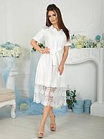 Нарядное белое Платье Беатрис, фото 1