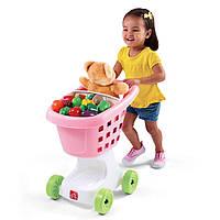 Детская тележка для покупок - Step 2 - США - розового цвета