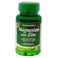 Магний плюс цинк / Magnesium with zinc, Apollo Pharmacy / 100 таб