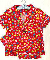 Хлопковые шорты для дома с рубашкой