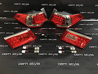 Led оптика Spirior, Honda Accord 2008-2012 темный хром