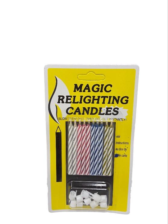 Свечи для торта незадуваемые Magic Relighting Candles
