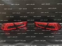 Задние Led фонари Mitsubishi Lancer X