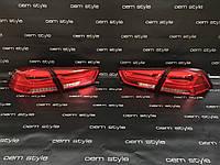 Задние Led фонари Mitsubishi Lancer (Audi style), фото 1