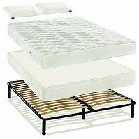 Каркас кровати с ламелями