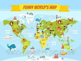 Смешная карта