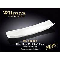Блюдо прямоугольное 30х10см Wilmax WL-992622