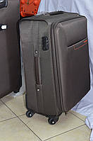 Большой коричневый чемодан Wanlima