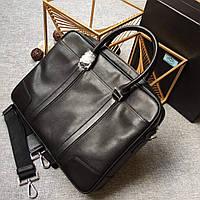 Мужской портфель из кожи Prada