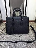 Мужской портфель Prada, Saffiano, фото 1