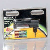Зарядное устройство - Duracell на 2 аккумулятора + 2 аккум. HR6 2400 mAh