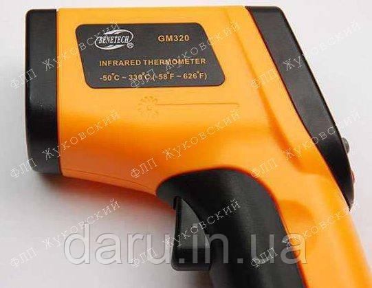 Пирометр инфракрасный с лазерным указателем Benetech GM320 ( SRG320 ) -50~380℃ ( 12:1 ) Оригинал!!!