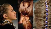 Плетение волос детям печерск