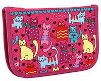"""Школьный пенал-книжка CF85939  """"Cats"""" Cool For Schoool"""