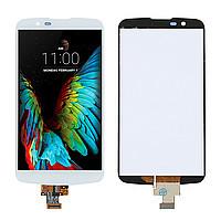 Дисплей для LG K410 K10/K420N/K430DS/K430DSF/K430DSY + touchscreen. белый. оригинал (Китай)