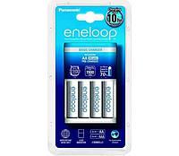 Зарядное устройство - Panasonic Eneloop на 4 аккумулятора + 4 аккум. HR6 1900 mAh