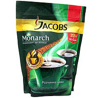 Кофе растворимый Якобс Монарх 205г эконом пакет Jacobs Monarch Высшее качество