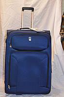 Средний сапфировый чемодан Travel Pro