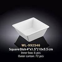 Емкость д-закусок Wilmax10x3,5см WL-992546