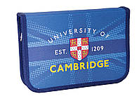 """Пенал твердый одинарный с клапаном """"Cambridge blue"""" 20.5*14*3.5, 531379"""