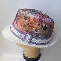 Шляпа молодежная челинтано Размер  56,57,58