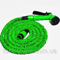 Шланг X HOSE 15m 50ft steel, садовый шланг x hose, шланг для полива x hose 15м 50ft