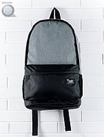 Рюкзак (с отделением для ноутбука до 17″) Staff - Black with gray 23 L Art. RB0029 (серый | чёрный)