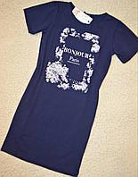 В наличии.  Летний платье для девочки из  облегченного трикотажа. рост 134-158